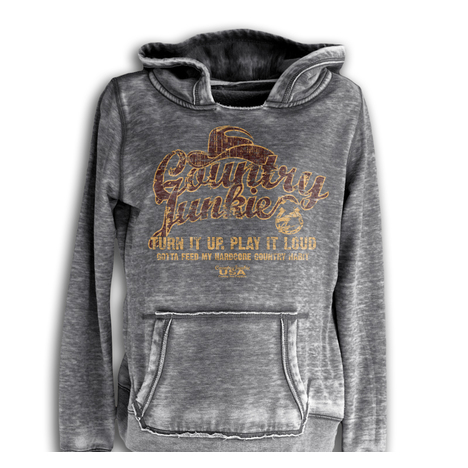 Country Junkie Turn It Up Hoodie