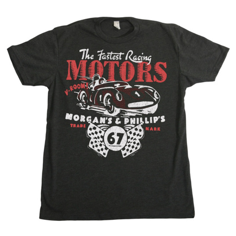 Morgan's & Phillip's Racing Motors T-Shirt