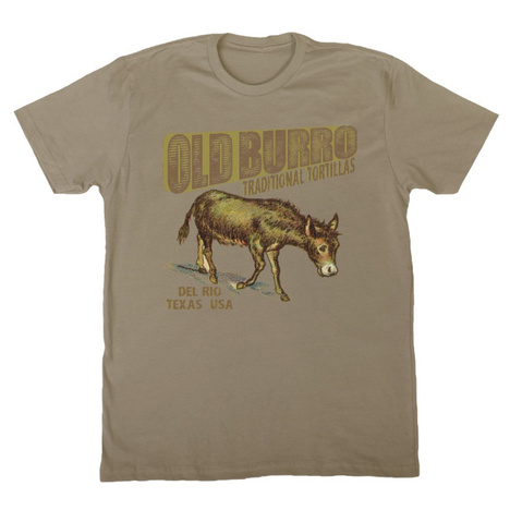 Old Burro Traditional Tortillas T-Shirt