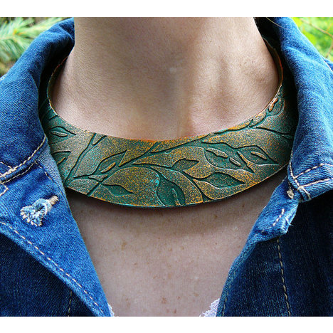 Vintage Leaves Necklace