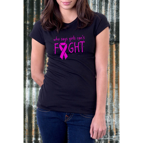 Who Says Girls Can't Fight T-Shirt