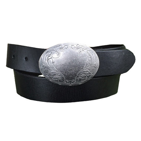 Charley Belt With Pewter Buckle