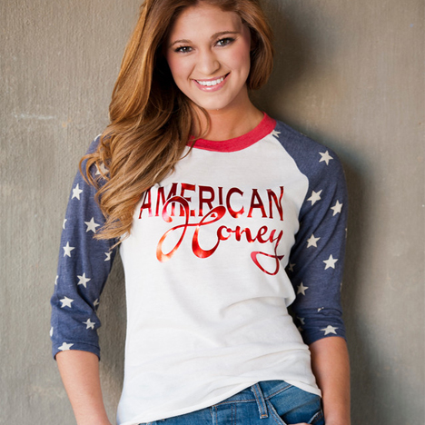American Honey Stars T-Shirt