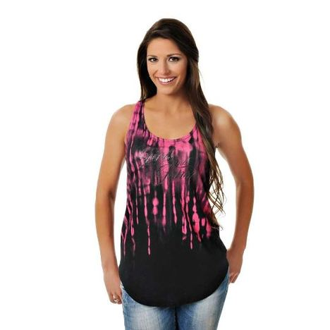Double Racer Twist Tank Top