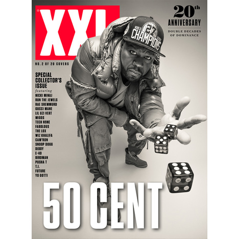 50 Cent - 20th Anniversary Cover