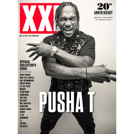 Pusha T - 20th Anniversary Cover