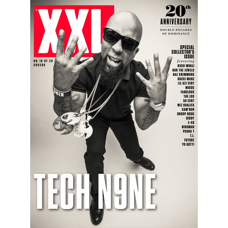 Tech N9ne - 20th Anniversary Cover
