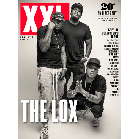 The Lox - 20th Anniversary Cover