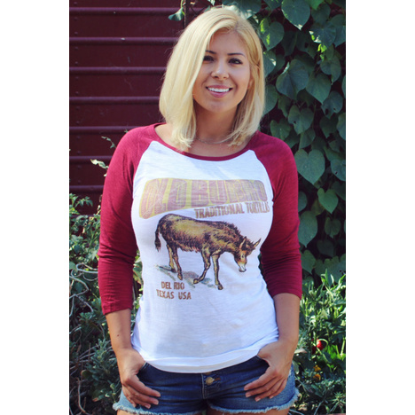 Burro Baseball T-Shirt