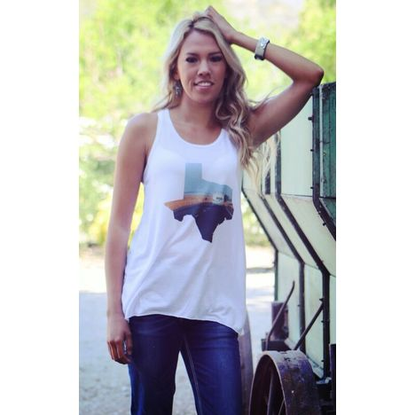 Wanderlust Texas Tank Top