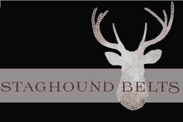 Staghound Belts Brand Logo